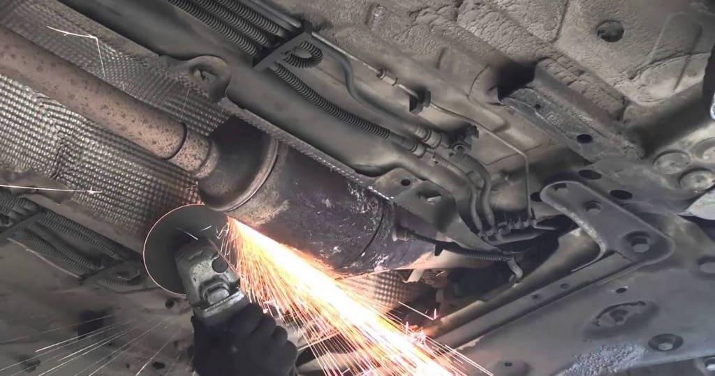Удаление сажевого фильтра Ситроен в Казани
