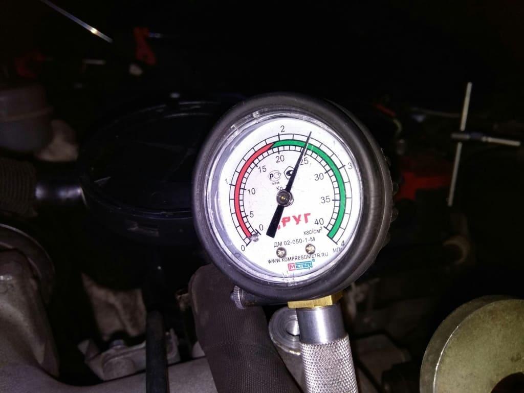 Замер компрессии двигателя Ситроен в Казани